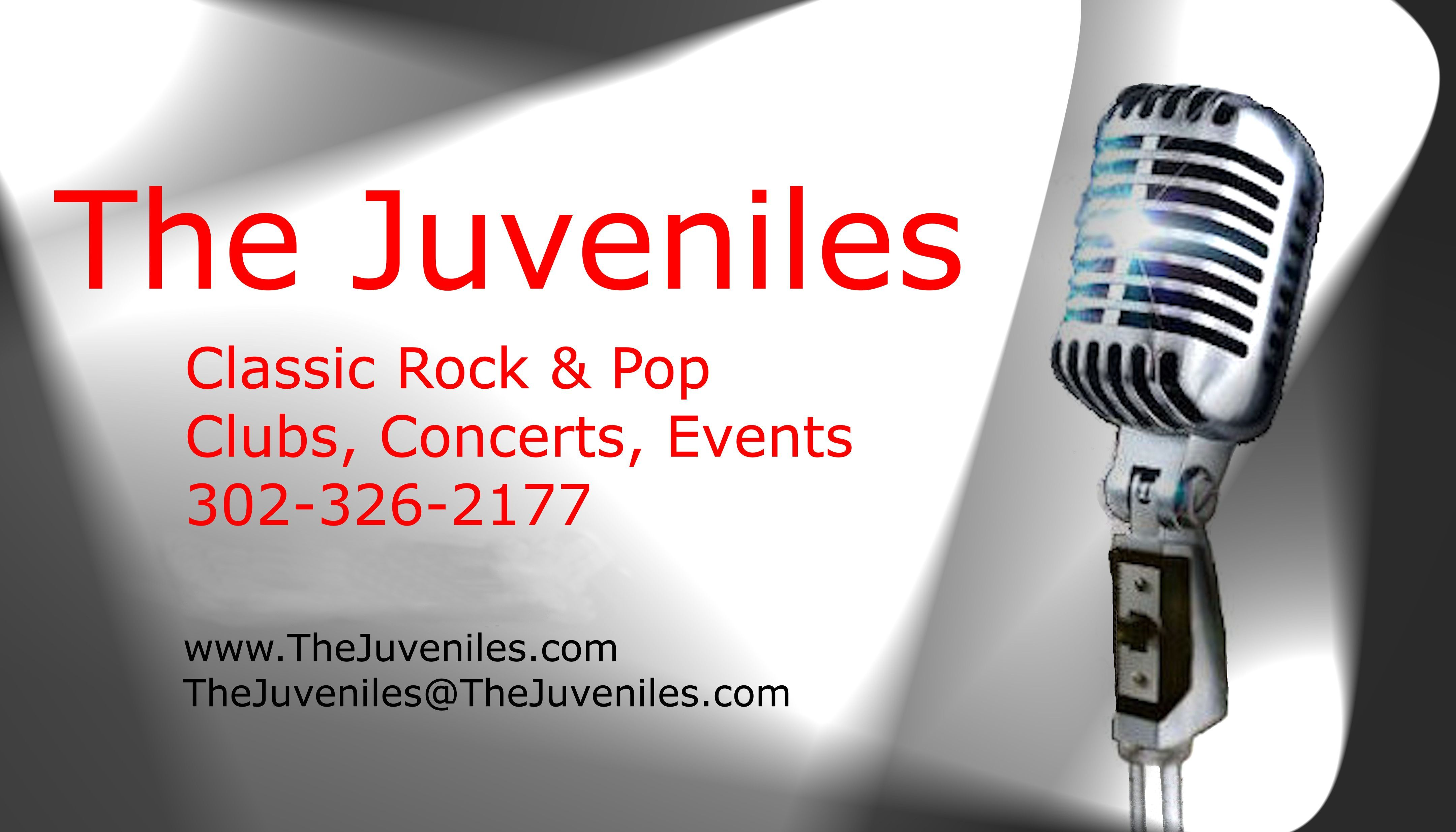 The Juveniles Business Card